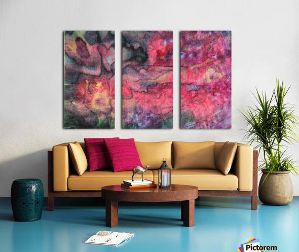 2020-5 Split Canvas print