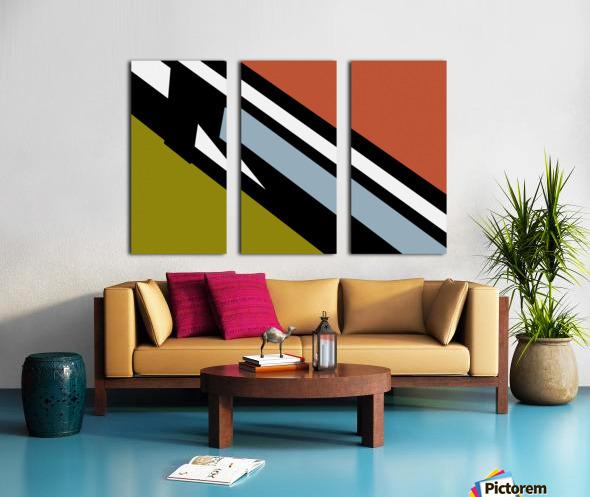 Bridge  X Split Canvas print