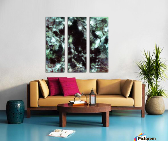 Loom Split Canvas print