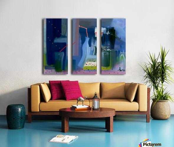 0312 Split Canvas print