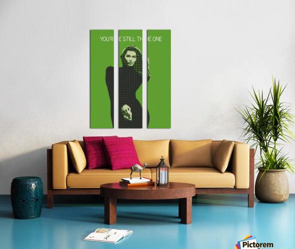 youre still the one   Shania Twain Split Canvas print