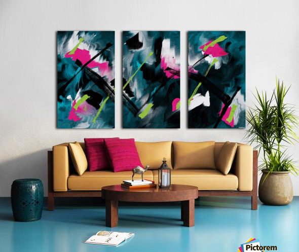 Zen Split Canvas print