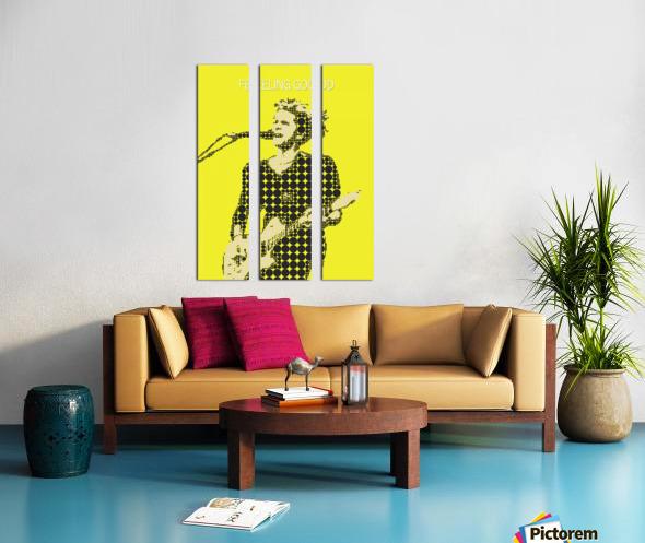 Feeling Good   Matt Bellamy Split Canvas print