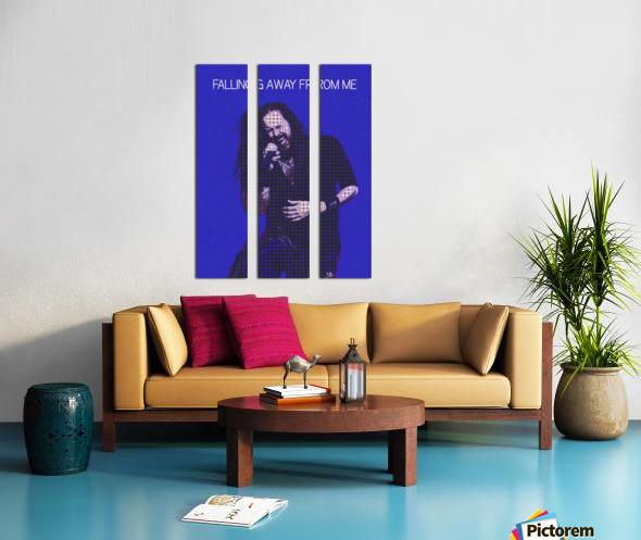 Falling Away from Me   Jonathan Davis   Korn Split Canvas print