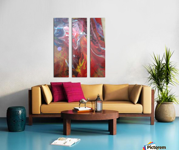 purgutry Split Canvas print