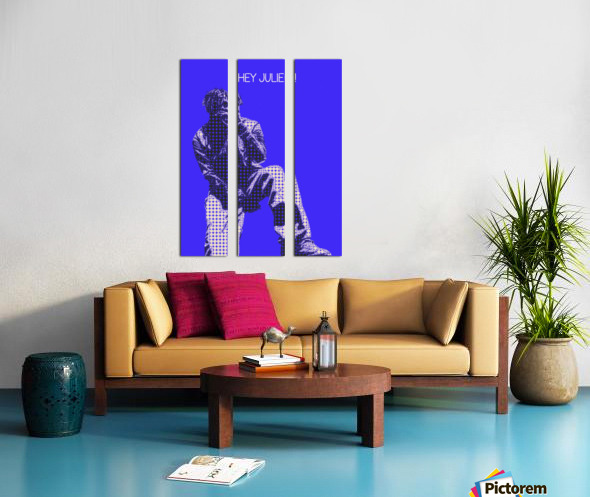 hey julie   Lil Yachty Split Canvas print
