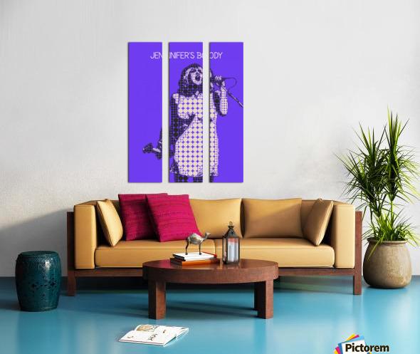 Jennifers body   Courtney Love   Hole Split Canvas print