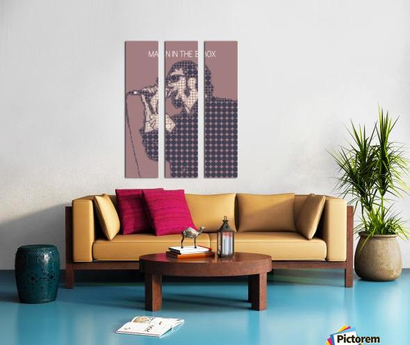 Man in the Box   Layne Staley Split Canvas print