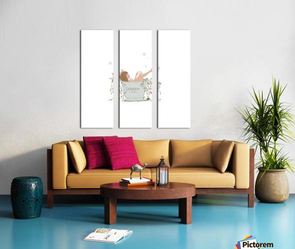 greentherapy Split Canvas print