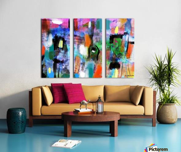 Through the Rain Split Canvas print