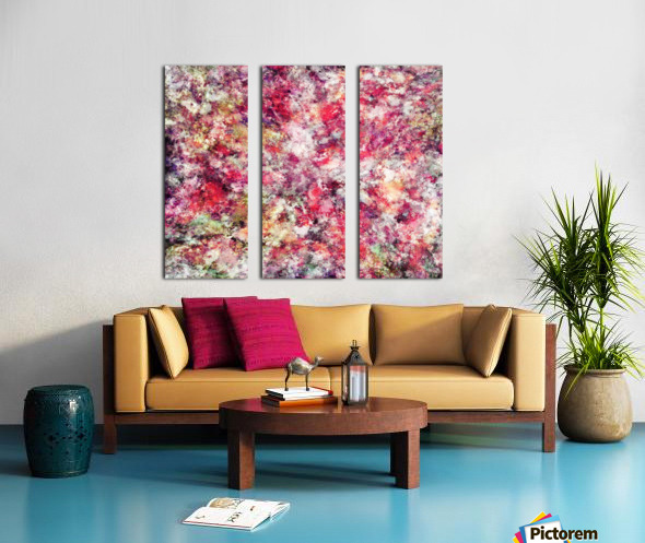 Rambling roses Split Canvas print