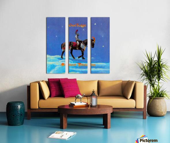 Good Knight  Sweet Dreams Split Canvas print