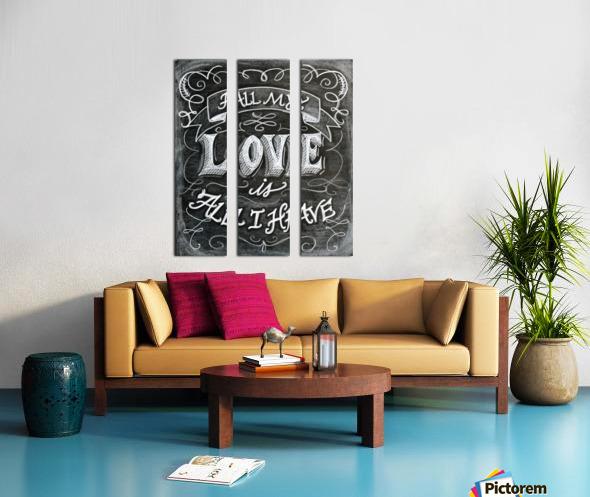 allloveprint Split Canvas print