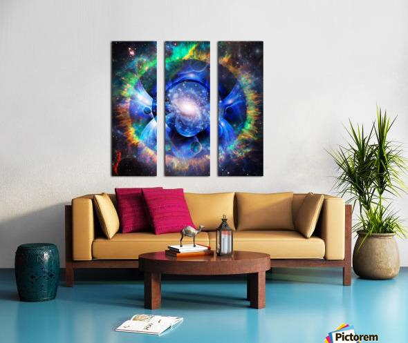 Mystic Universe Split Canvas print