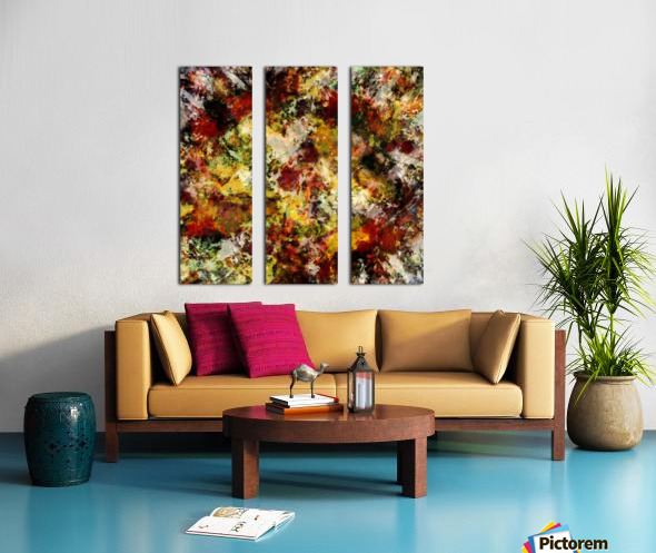 Push Split Canvas print