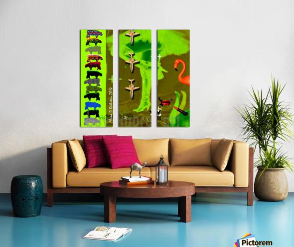 buymoreart Split Canvas print