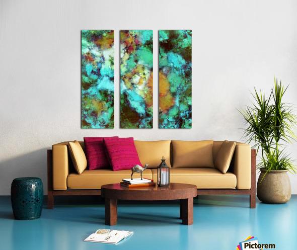 Regeneration Split Canvas print