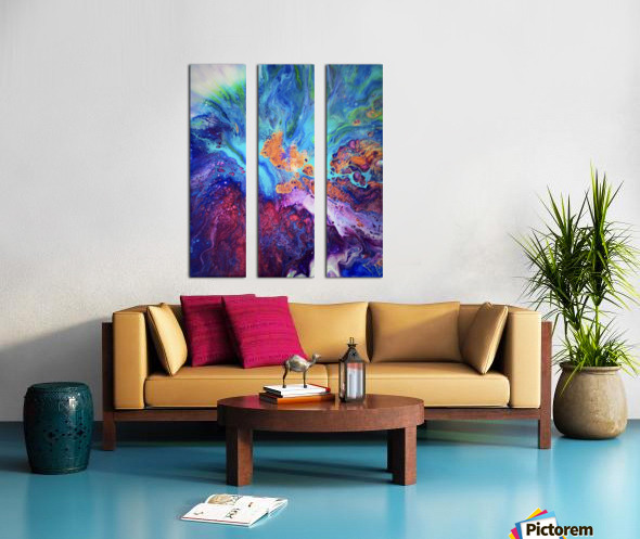 Colored by You Split Canvas print