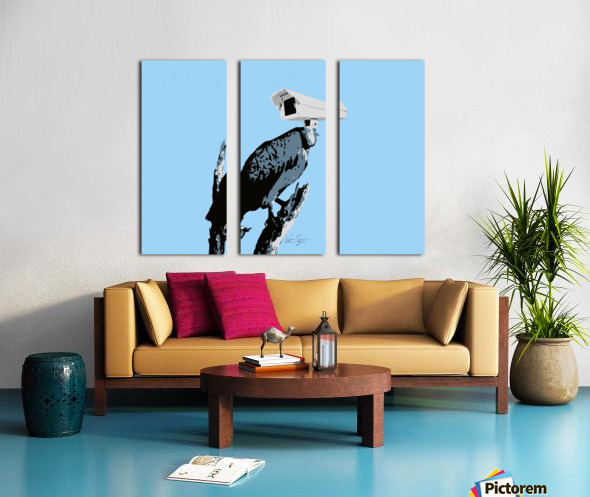 Vultures Split Canvas print