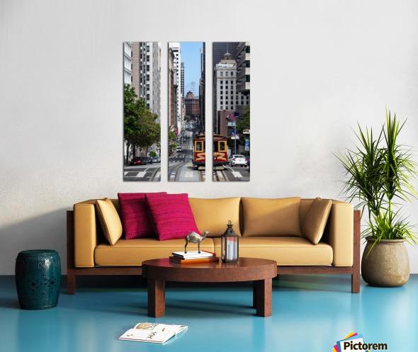 San Francisco City Scene Split Canvas print