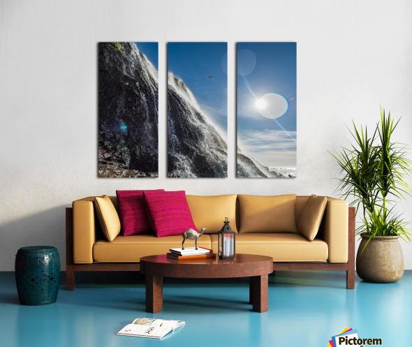 Alamere Falls Split Canvas print