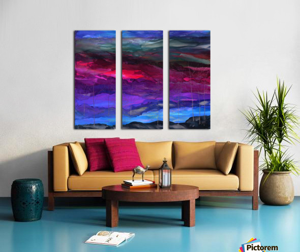 Everything is Quiet Split Canvas print