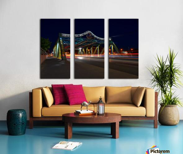 Queen St Viaduct Split Canvas print