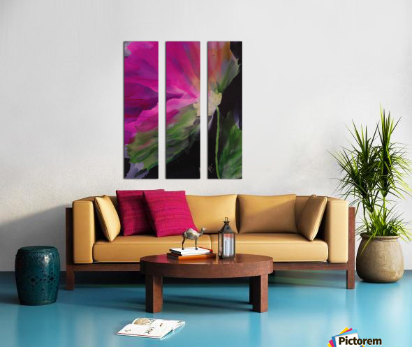 Windblown Blossom Split Canvas print