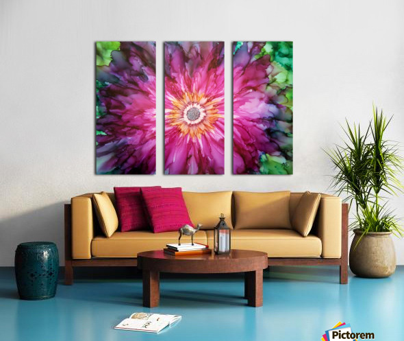 Forever Blooming Split Canvas print