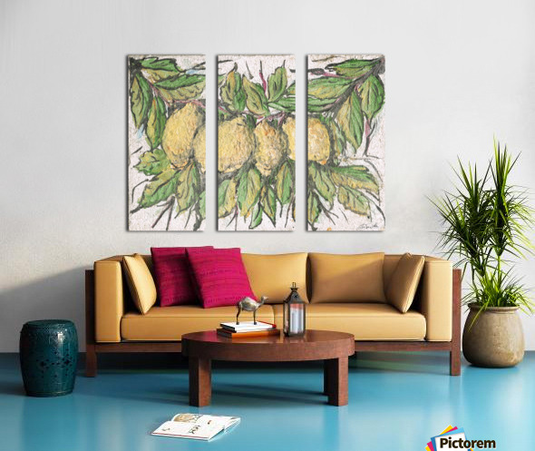 Sorrento_ fresco Split Canvas print