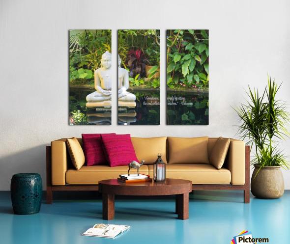 Zen Split Canvas print