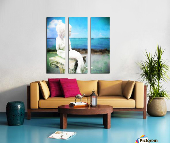 MermaidLisa Split Canvas print