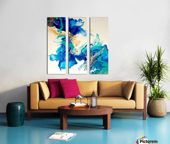Ocean_Blue_II Split Canvas print