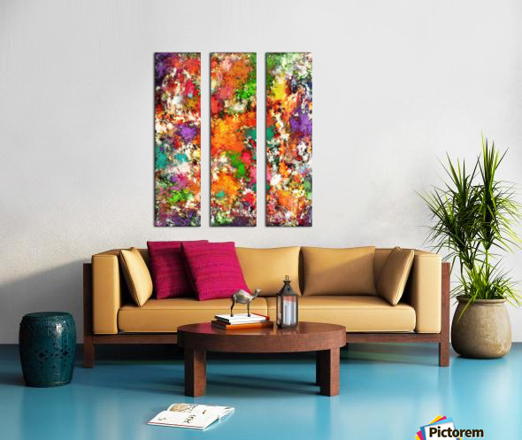 Snap Split Canvas print