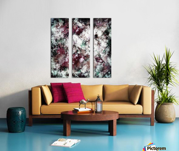 Snowcap Split Canvas print