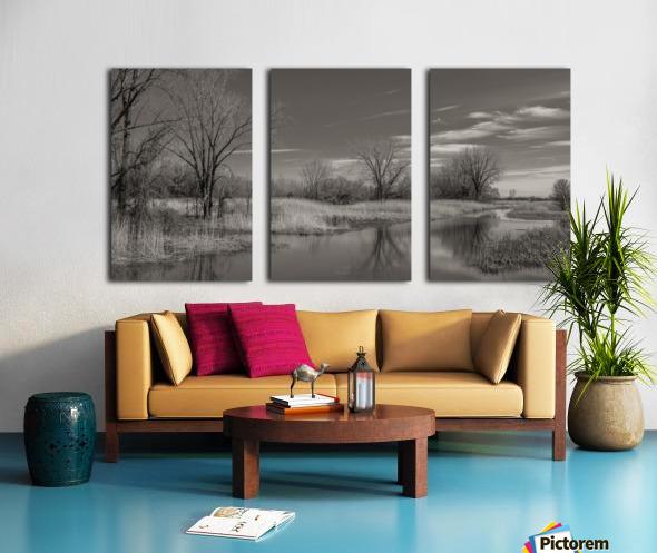 Varennes Split Canvas print