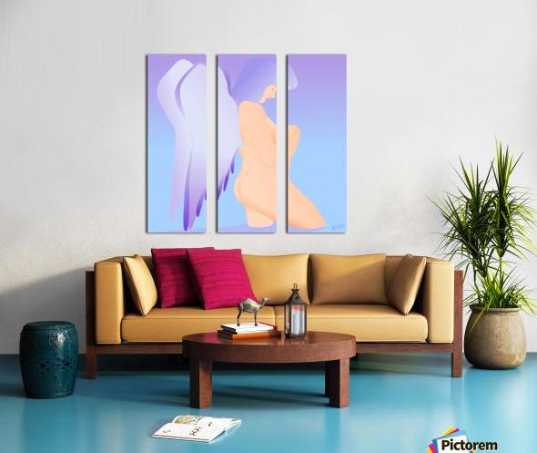 CHERUBIN Split Canvas print