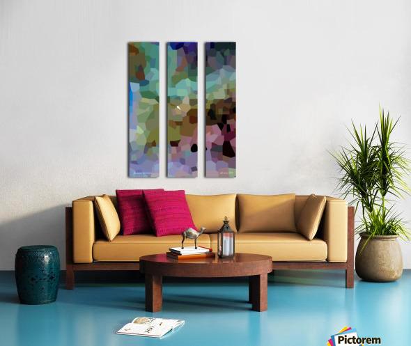 dissonant harmonies Split Canvas print