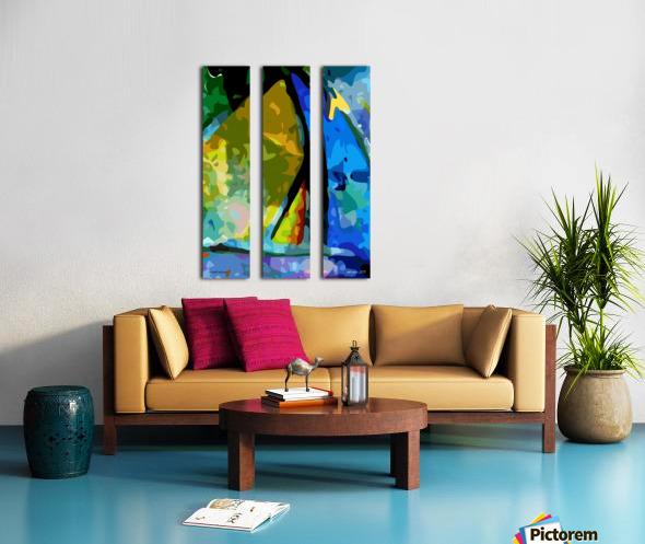 second nature Split Canvas print