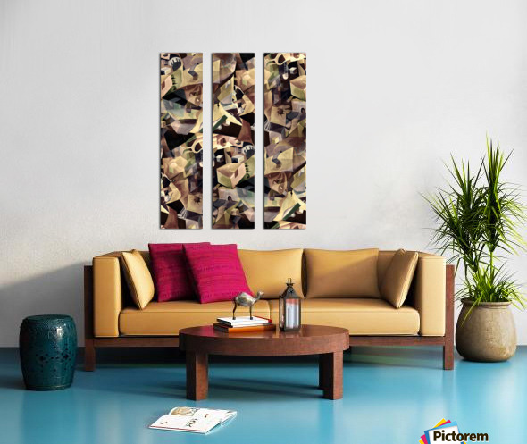 Oscillating  Magical Thoughts Split Canvas print