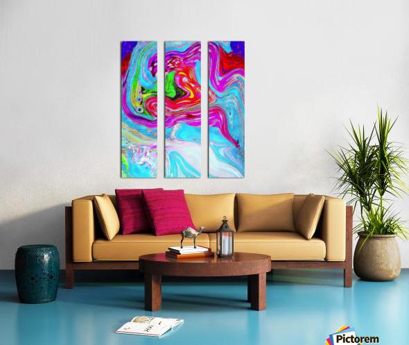 Ethereal Pleasures Split Canvas print