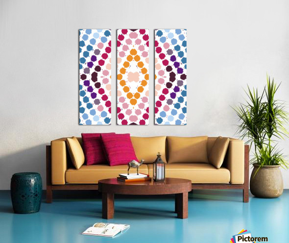 Yolanda Split Canvas print