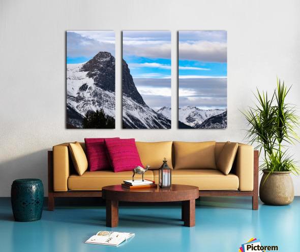 Ha Ling Mountain  Split Canvas print