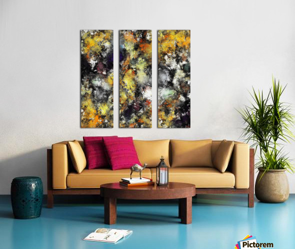 The greed Split Canvas print