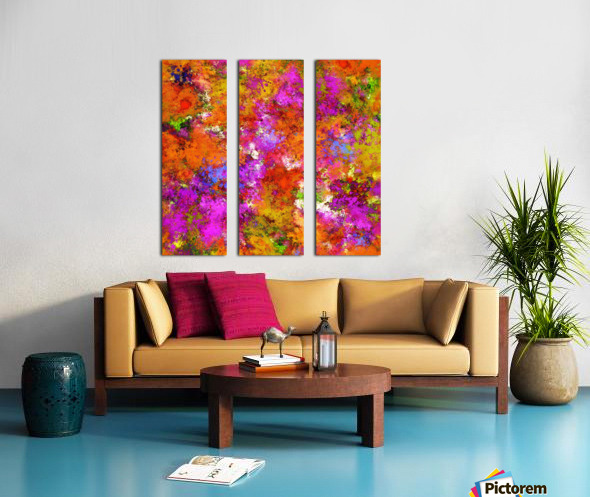 The maximum Split Canvas print