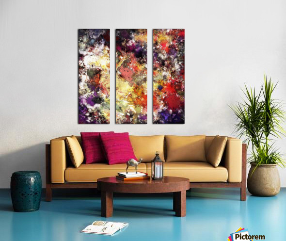 The raw truth Split Canvas print