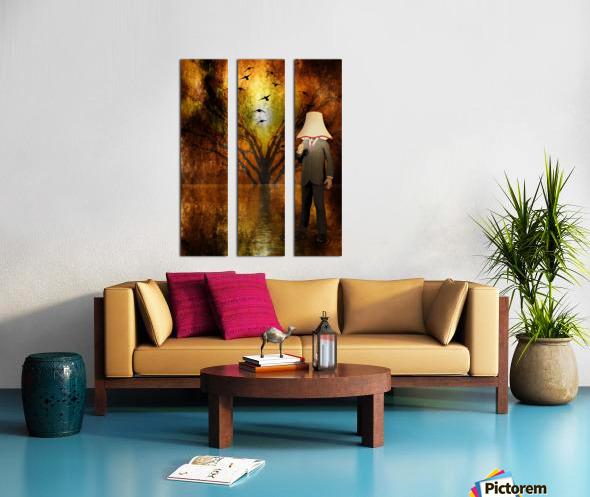 Lamp Man Split Canvas print
