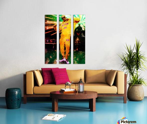 17 Split Canvas print