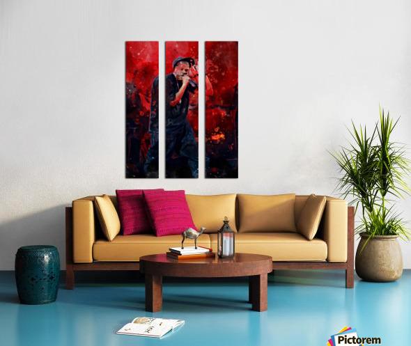 13 Split Canvas print
