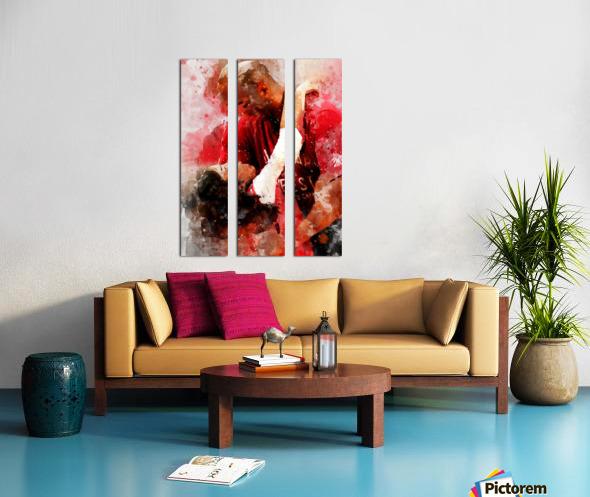 yu6 Split Canvas print